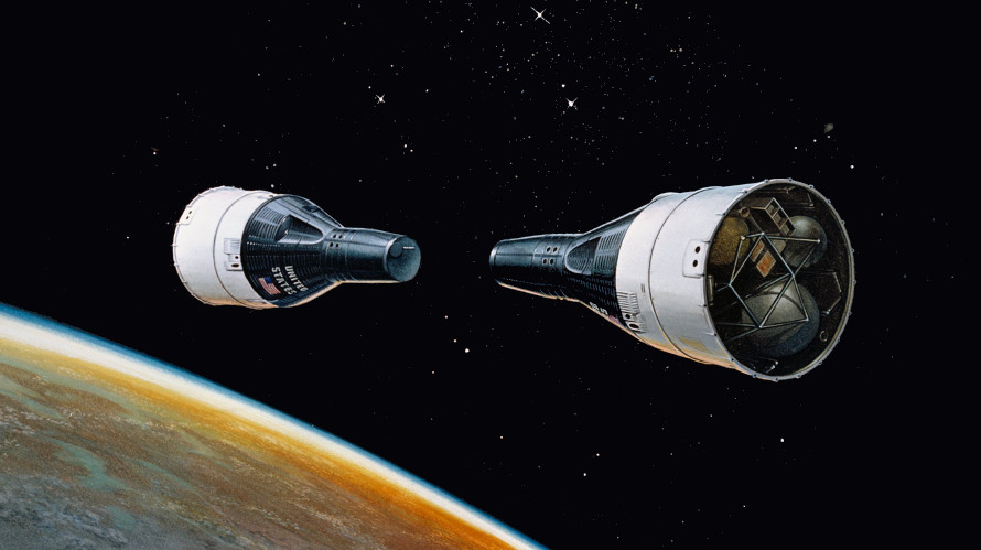 Gemini Space Program >> Rendezvous In Space Gemini 6 And 7 Drew Ex Machina