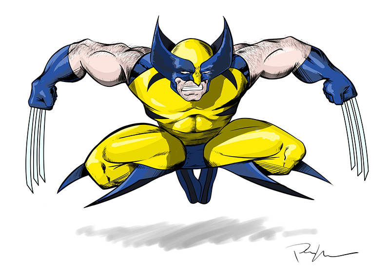 Marhue Wolverine color variant