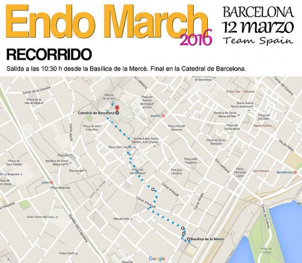 endomarch 2016 en Barcelona