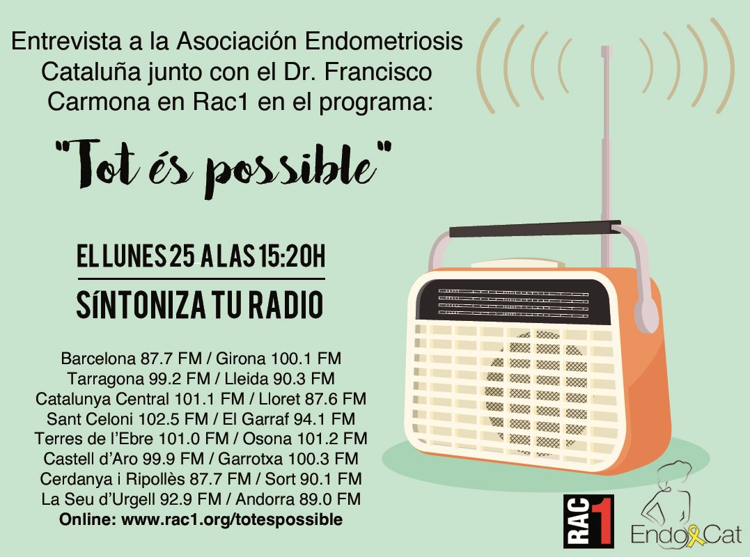 RAC1 Tot es possible endometriosis