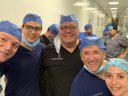 Primer trasplante de útero en México. Dr. Francisco Carmona 06