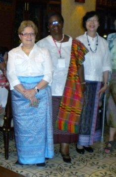 Myself, Professor Afua Hesse and Dr. Pattariya Jarutat