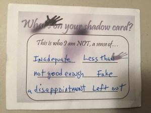 Shadow Card