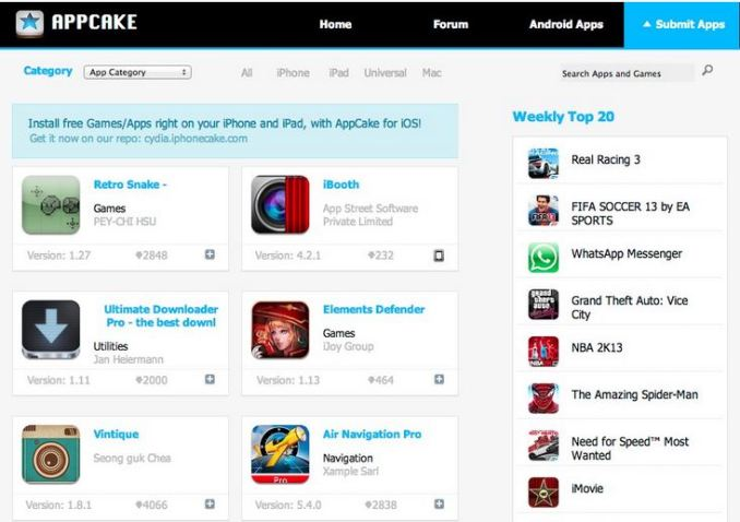 Appcake for android