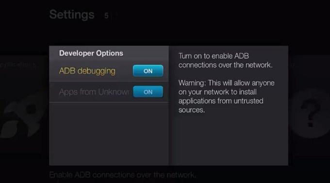 tv settings