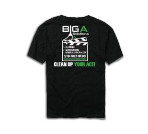 big a solutions t-shirt