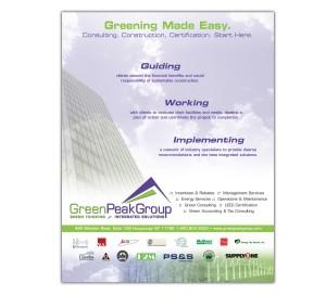 drgli green peak reli ad design print work