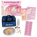 Nasco's Complete Breast Examination Education Kit Includes TearPad and Trainer