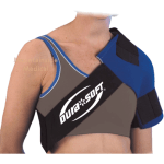 Donjoy Dura Soft Shoulder Wrap Provides Your Shoulder Continuous Cold Therapy Treatment