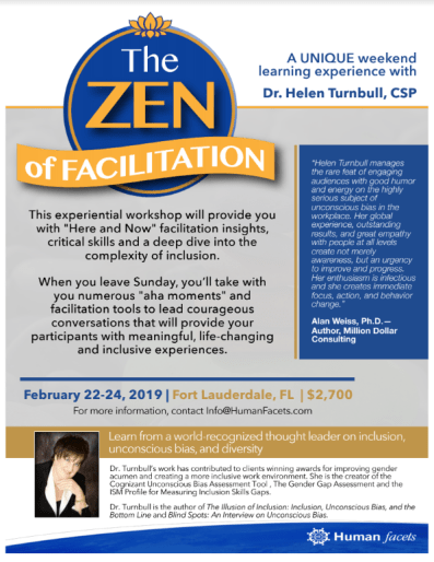"""Zen of Facilitation Workshop Onesheet"""