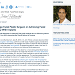 facial plastic surgeon in san diego,facial implants,combining chin implants with rhinoplasty