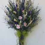 Eucalyptus And Roses Wall Bouquet Dried Floral Shop