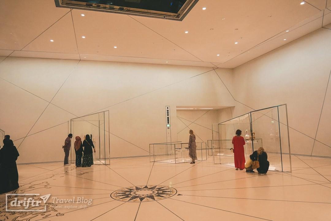 Einblick in den Louvre Abu Dhabi