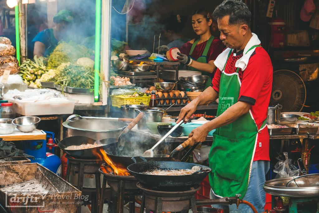 Streetfood in Chinatown