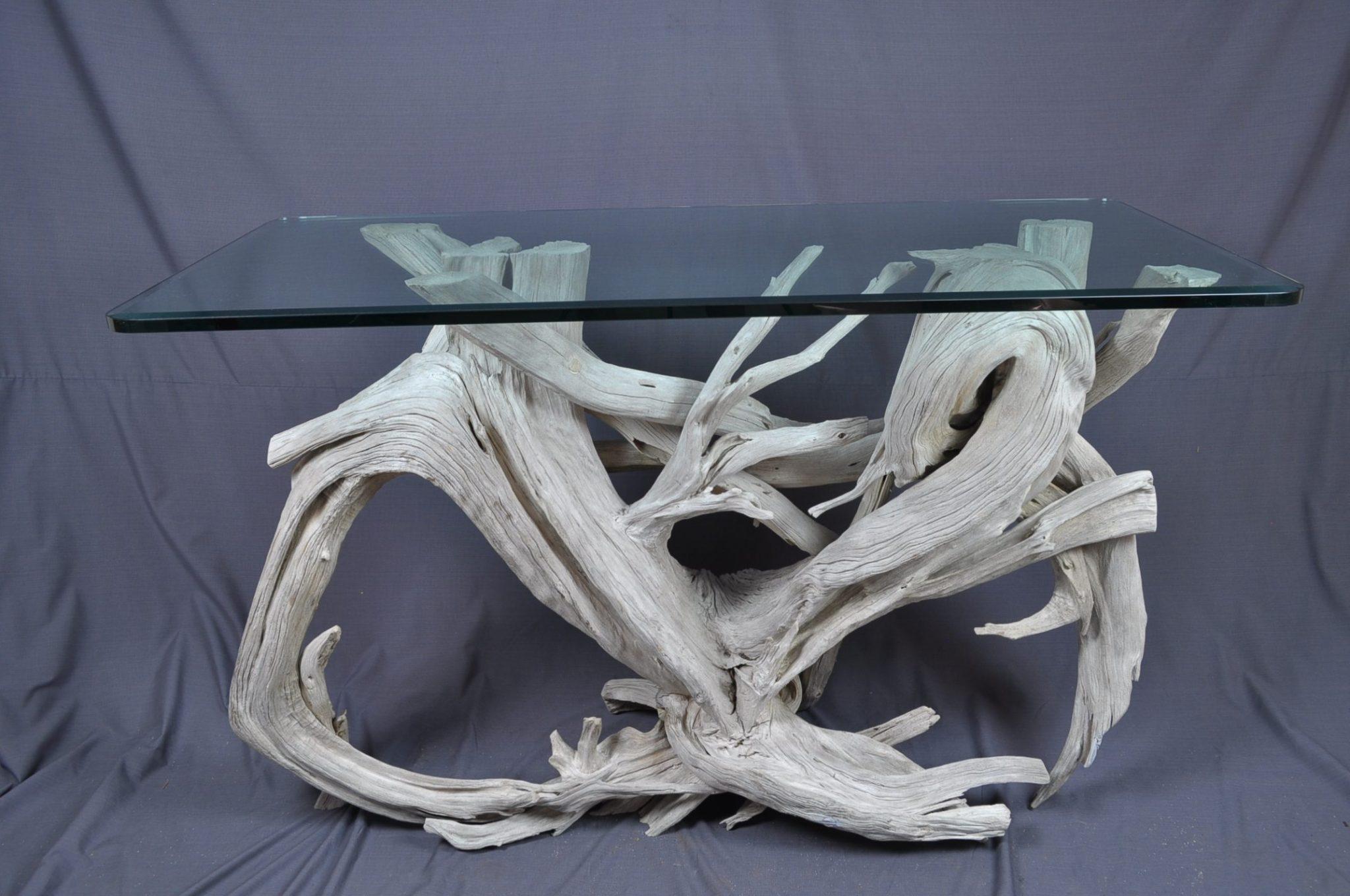 Hilton Head driftwood standing desk