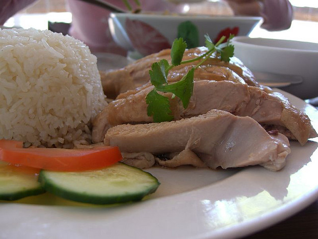 chicken rice in singapore