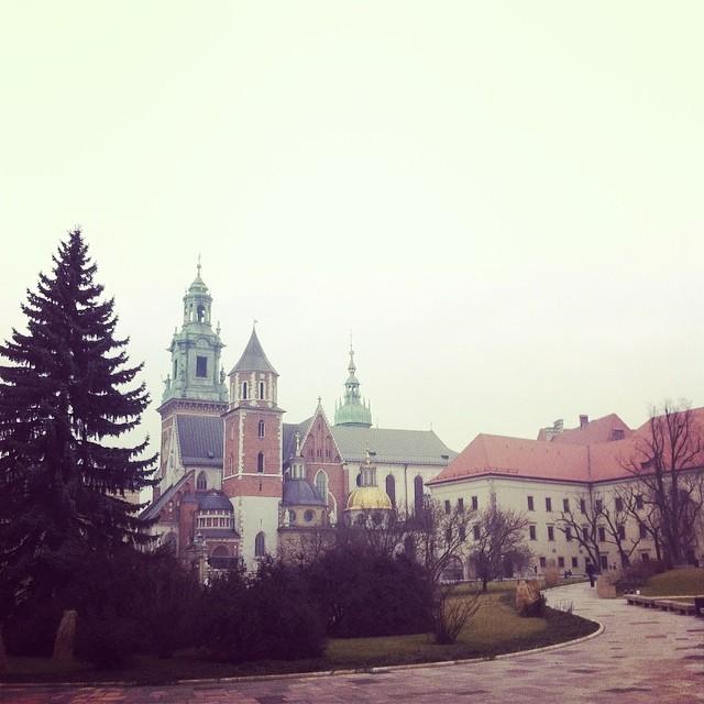 Inside Wawel Royal Castle, Krakow, Poland