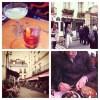 Aperitifs and dinner in Marais, Paris. Les Bougresses restaurant