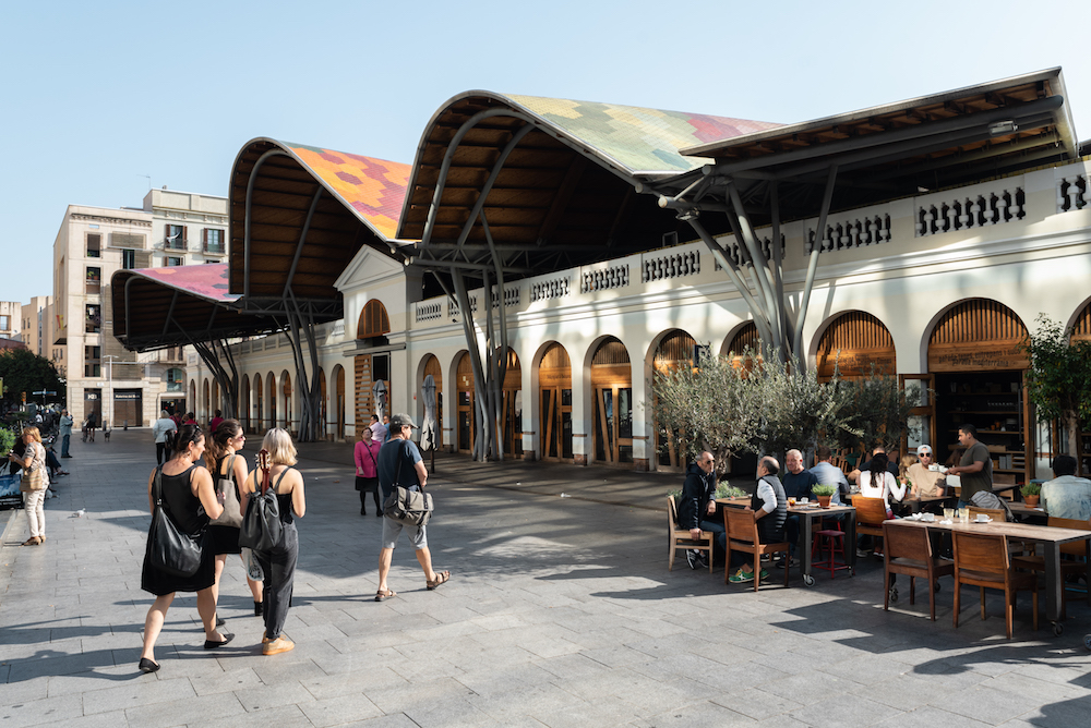 Santa Caterina Market, Barcelona - by Ben Holbrook from DriftwoodJournals.com