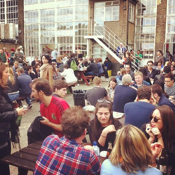 Truman Brewery Street Food Market, Shoreditch, London