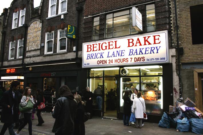 Beigel Bake Begel Shop Brick Lane East London