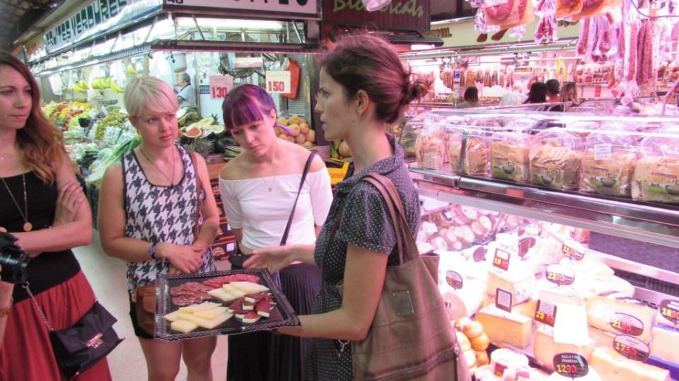 Mercat de l'Abaceria Central - Travessera de Gracia, Barcelona