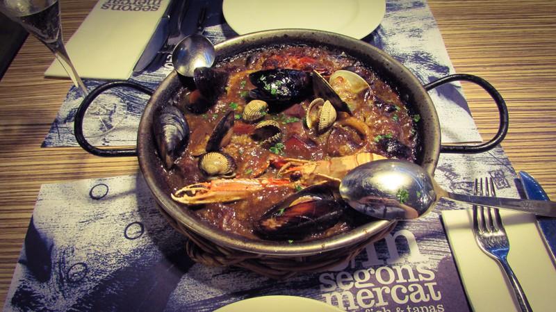Segon Merkat Seafood Restaurant Barceloenta Barcelona