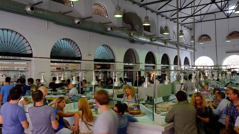 Mercado de Feria seville
