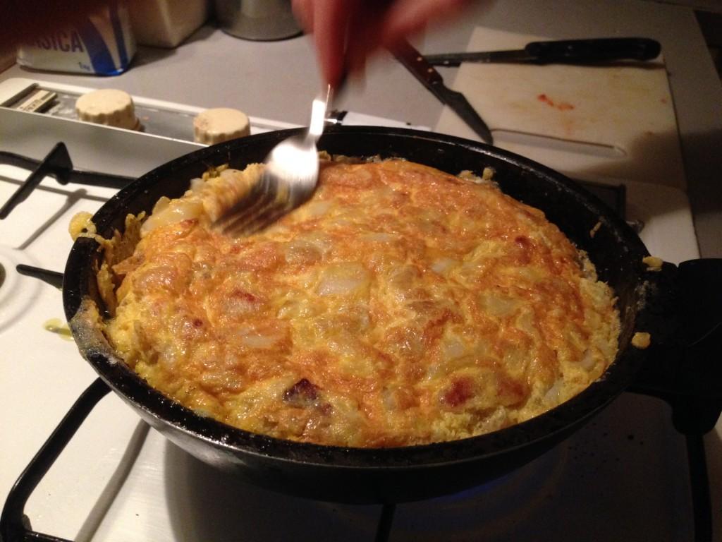 Homemade Tortilla espanola