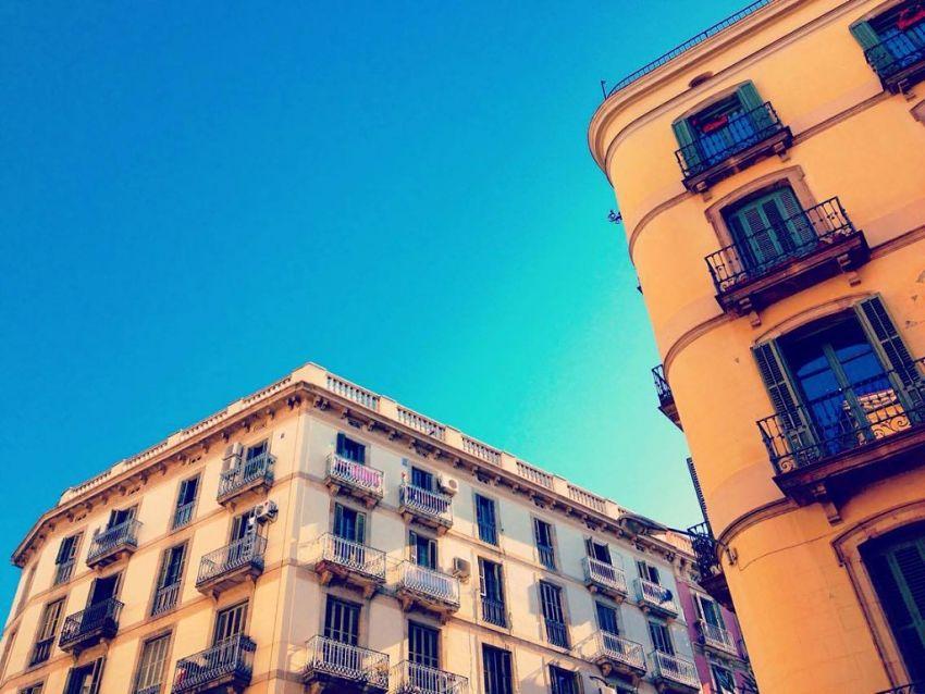 Barcelona's El Born barrio looks good in blue
