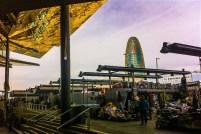 The new Encants flea market in Poblenour Barcelona - the oldest flea market in Europe