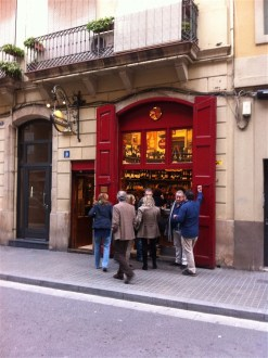 Quimet i Quimet, one of the most famous tapas bars in Barcelona (Poblesec)