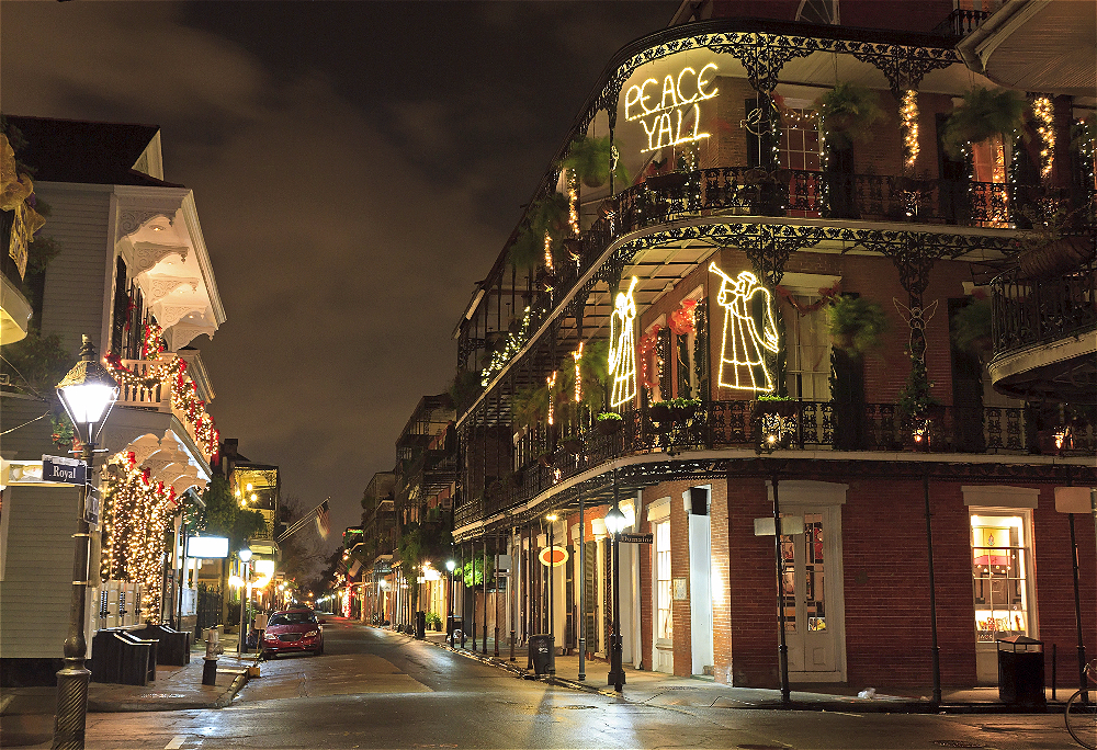 New Orleans French Quarter at Night - Tours and Experiences