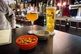 Naparbier beers at NaparBCN brewpub in Barcelona