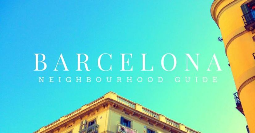 Barcelona neighbourhood guide by Ben Holbrook from Driftwood Journals