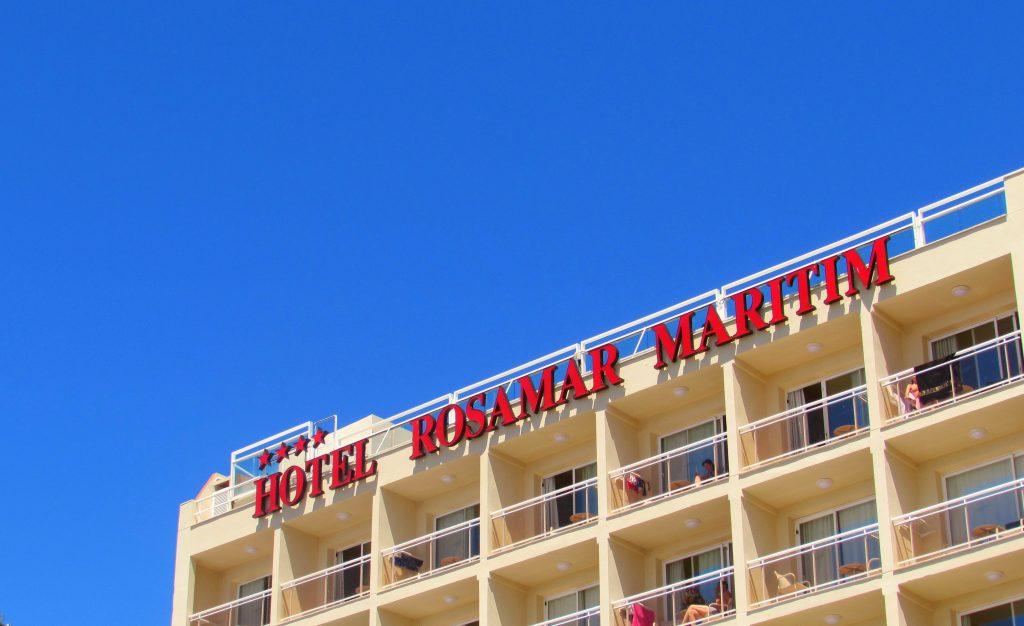 Hotel Rosarmar Maritim in Lloret de Mar, Costa Brava, Catalonia