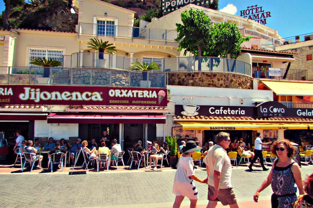 Tossa de Mar cafes and Orxaterias