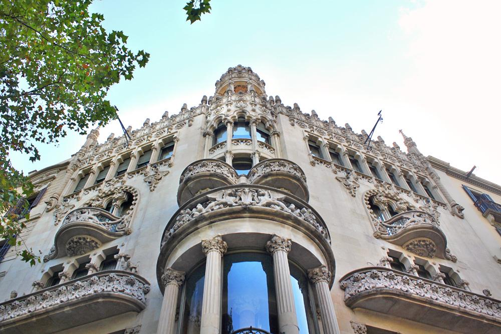 Casa Lleó i Morera Modernist Building in Barcelona