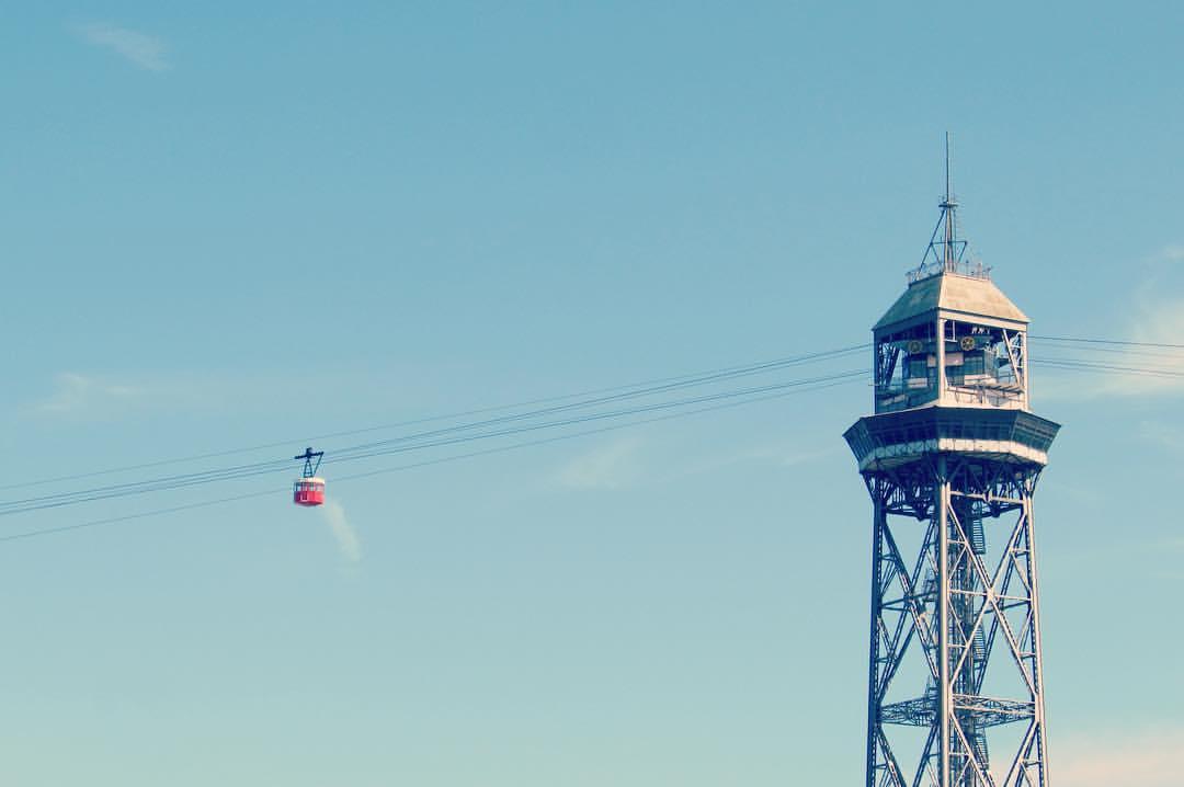 Barcelona cable car