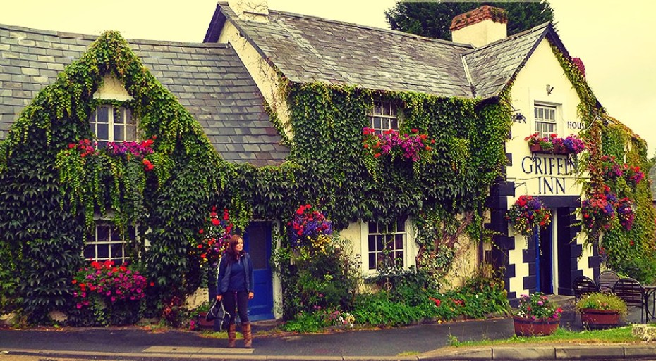 griffin-inn-llyswen-pub and rooms in Wales