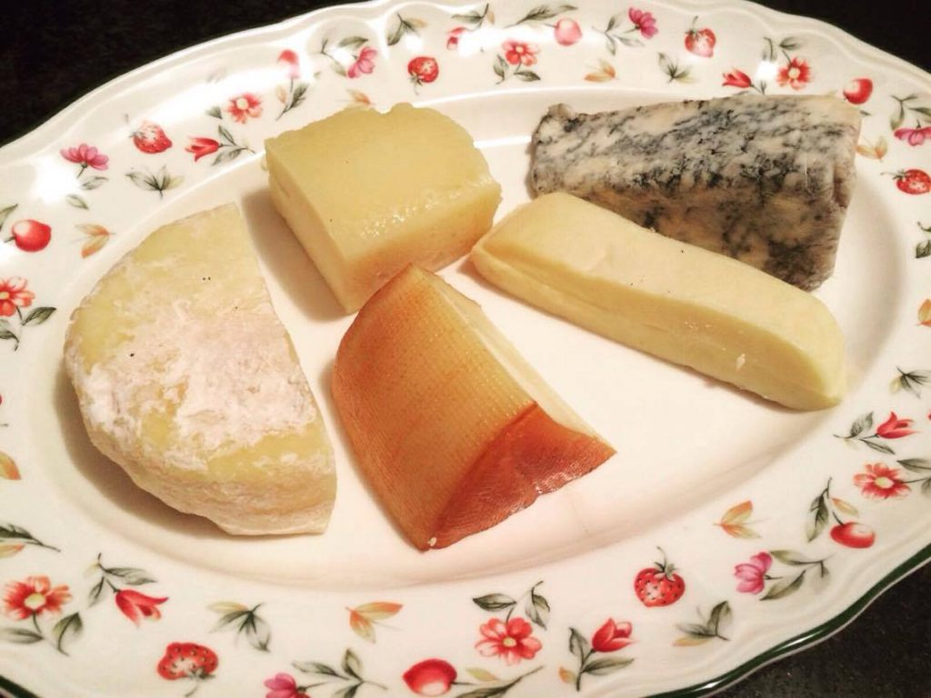 Asturias' famous cheeses