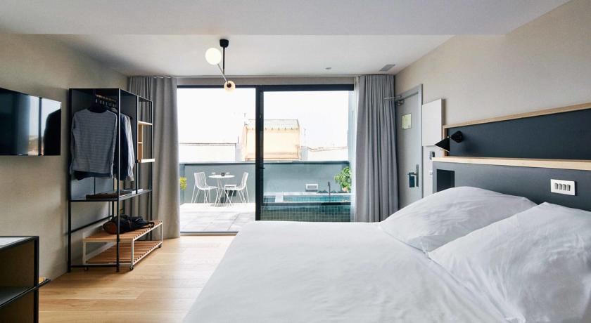 Hotel Brummell hotel Barcelona with private terrace