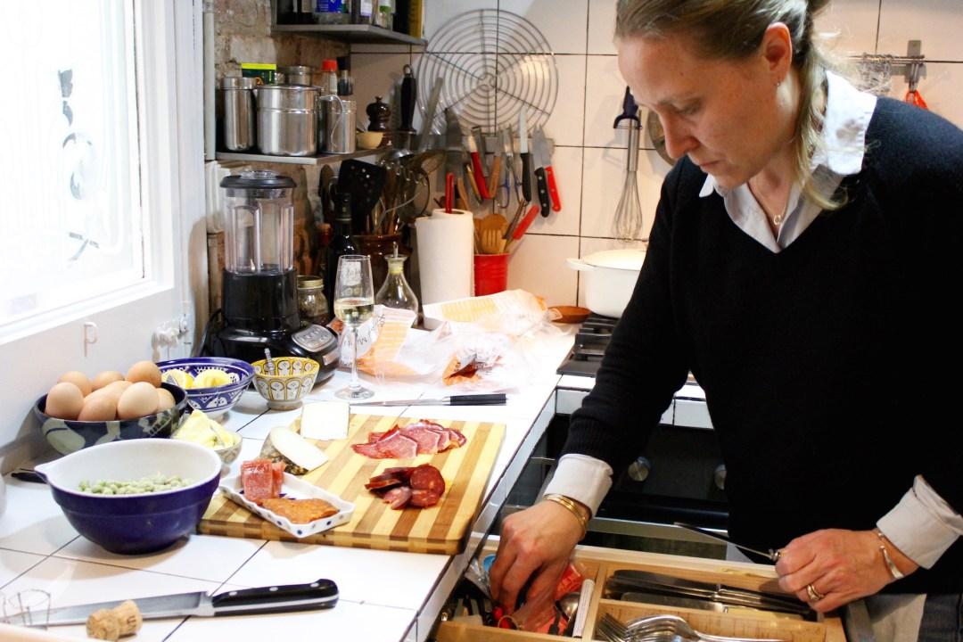 Chef Sarah Stothart Barcelona Food Sherpa Home Dining Experience