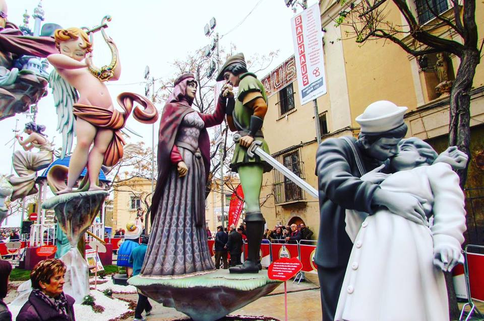 Famous ninots at Valencia's Las Fallas festival