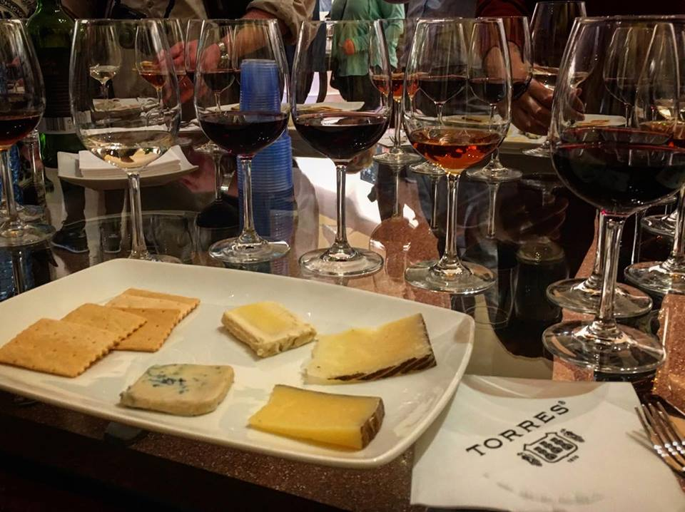 Wine tasting tour of Torres Bodegas in Penedes outside of Barcelona