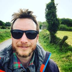 Ben Holbrook hiking the Camino de Santiago - Driftwood Journals Travel Blog