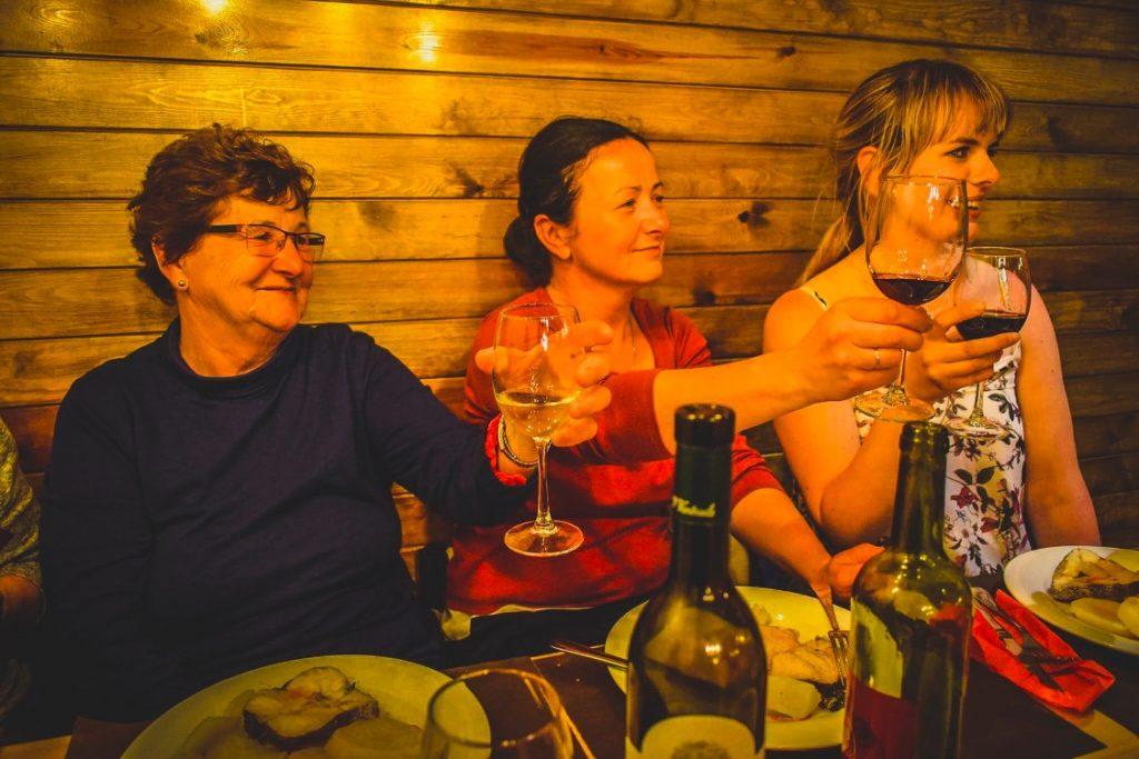 Celebrating the end of the Camino in Santiago de Compostela