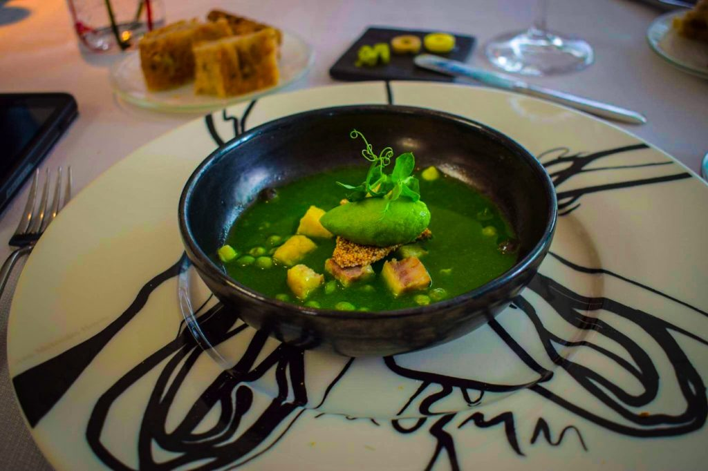 Michelin Starred Lunch on the Wanderbeak Food and Architecture Tours Barcelona