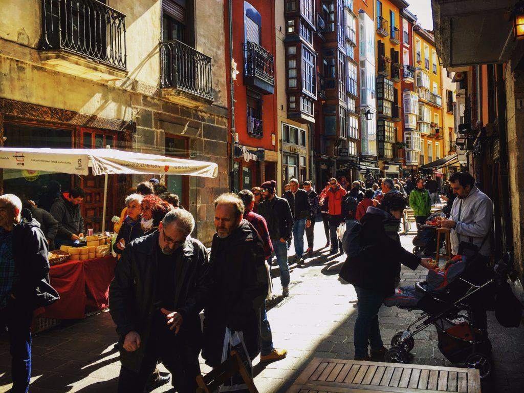 Streetlife in Vitoria