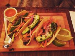 Filomena vegan tacos - by Ben Holbrook